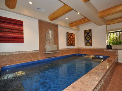 Photo for Zephyr Cove Tahoe Tranquility, 6 bedroom family home indoor hot tub (ZC695)