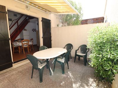 Photo for House P2 mezzanine with terrace, washing machine, near beach and shops, parking