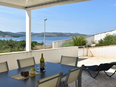 Photo for Stunning sea views, close to the centre of Sibenik as well as the Krka NP - a true top location!