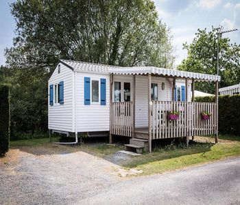 Photo for Camping Kernodet Island *** - Mobil Home Ridorev 3 Rooms 4 People