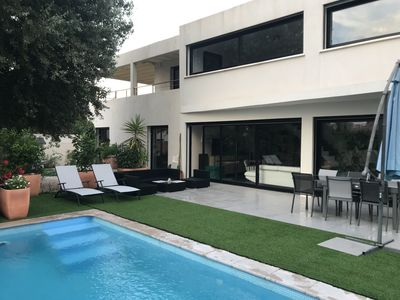 Photo for Villa with flat roofs, Cap d'Agde - 500m from the beach
