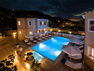 Photo for 4 luxurious 2-bedroom maisonettes close to Lefkas town and Ag.Ioannis beach