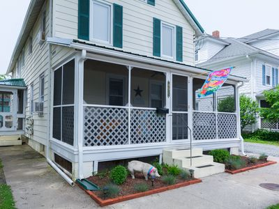 Photo for Rehoboth Beach 3-Bed/1-Bath in-town condo only 1.5 blocks to beach!