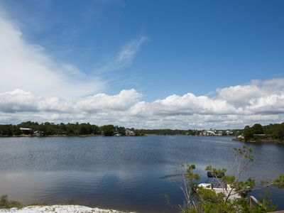 Photo for All's Well is located on a beautiful dune lake in Seagrove Beach!