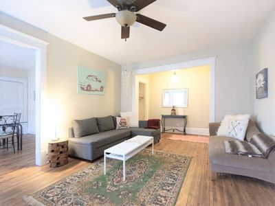 Photo for Quaint & Quirky 4 Bedroom Charmer~2 Miles to Lakes, Uptown Fun!