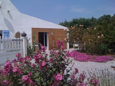 Photo for House in Belle-Ile any comfort with Bikes available and Vehicle