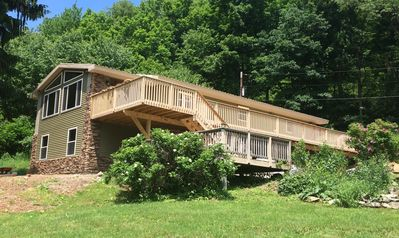 Photo for Mountain House located minutes from the slopes at 7 Springs