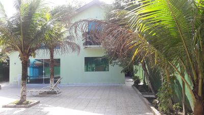 Photo for beach house with pool in condominium quiet and near the beach