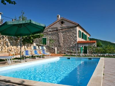 Photo for Holiday home with pool in old walls - Villa Vesna