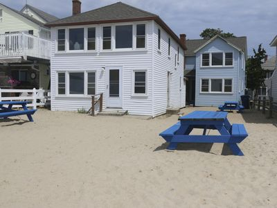 Photo for 3bdr Beachfront Property at Old Colony Beach, Old Lyme with WIFI