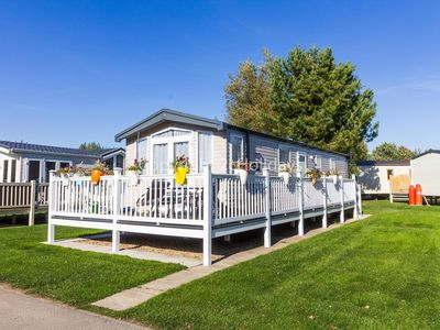 Photo for Luxury 6 berth caravan for hire at Haven Thorpe Park Lincolnshire ref 42017