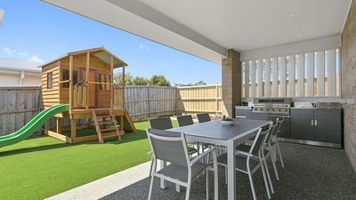 Photo for All About Families, Cubby House, Multiple Living Zones, Theatre Room, BBQ,