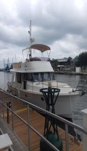 Charter docked at Shem Creek