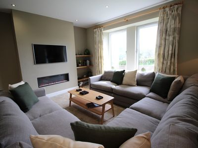 Photo for Lake View, Watermillock 5* luxury sleeping 8 people