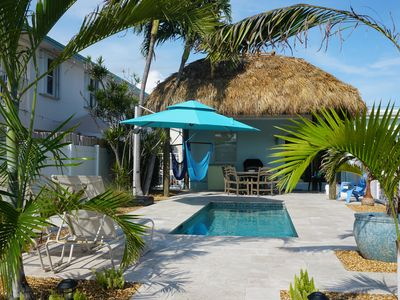 Photo for Heated Private Pool, Beach Club, and 26' Dock