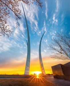 Visit the United States Air Force Memorial. A 2 to 3 minutes walk from the house
