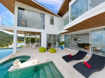Photo for 3BR Ocean View Infinity Pool Villa The Wave A7