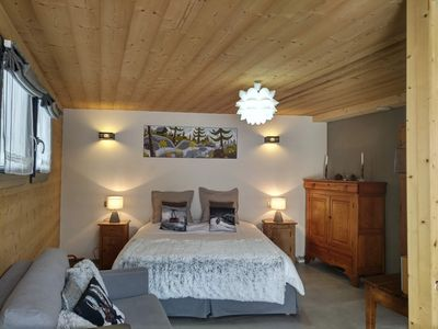 Photo for Luxury accommodation Praz Torrent in Vallorcine eco-cottage 13kms Chamonix Mont Blanc