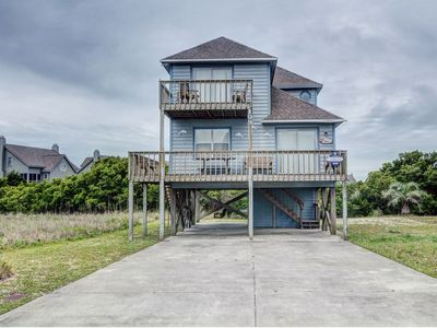 Photo for HOFF 2: 4 BR / 2 BA surrounding views in south end of Topsail Beach, Sleeps 8