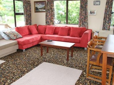 Photo for Lakeside haven ideal for 2 families or large group