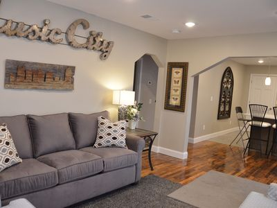 Photo for Tuggle House 8 minutes from downtown Nashville, Sleeps 10 (5 beds and a sofa)