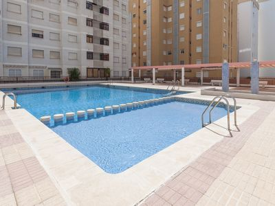 Photo for NAVEGANTE - Apartment with shared pool in Playa de Gandia.
