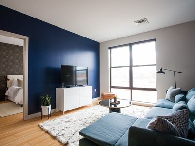 Photo for Lively 1BR in Seaport by Sonder