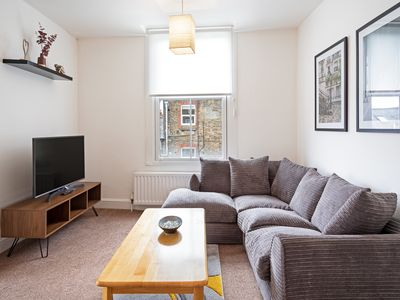 Photo for Stunning 2 Bed Apt w/Balcony near Clapham South