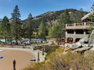 Photo for Resort at Squaw Creek ski-in/out condo! Year-round outdoor pool, hot tubs, more!