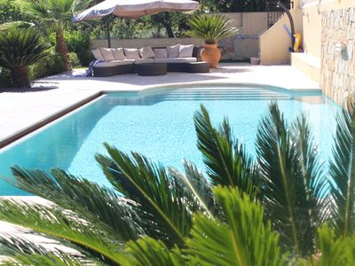Photo for ANTIBES SUPERB VILLA WITH SWIMMING POOL 170m2 (near the sea)