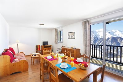 Come and stay in our cozy apartment for 8 in Peyragudes!