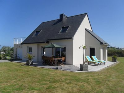 Photo for House Saint Pabu (25 minutes from Brest) - close beach sea view - 8 pers.