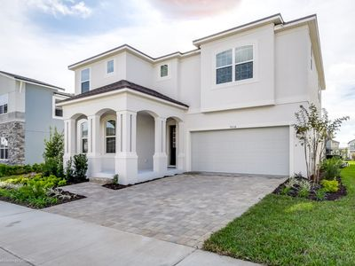 Photo for Luxury 6 Bed Villa with Saltwater Pool/Spa, Game Room & Resort Clubhouse - Minutes to Disney