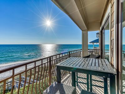 Photo for Gulf-front in Inlet Beach, Community Pool, Beach Chairs