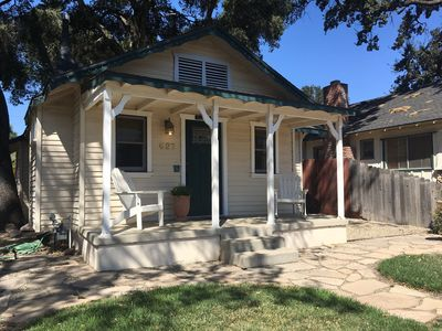 Photo for Walk to Downtown from Historic Craftsman home