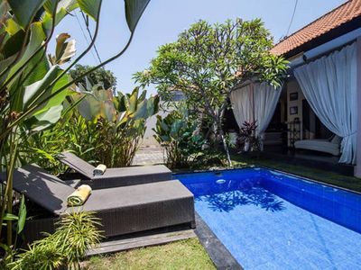 Photo for VILLA LAVANDA CENTRAL SEMINYAK WALK 11 MIN TO KUDETA BEACH