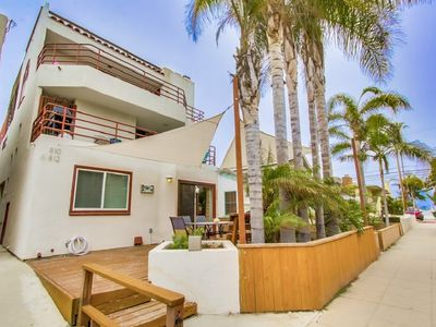 Photo for Family Friendly South Mission Beach Ocean and Bay View Home with Rooftop Deck
