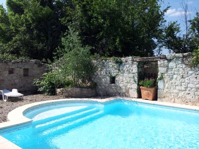Photo for In Vallee du Lot: holiday-houses-france + private pool + wifi