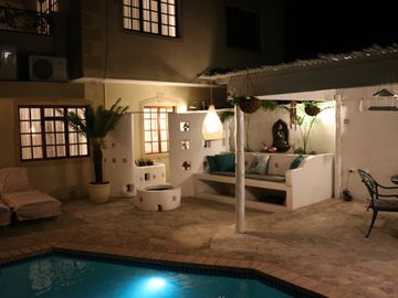Secure, Serviced, Boutique town house, private pool in complex & great location
