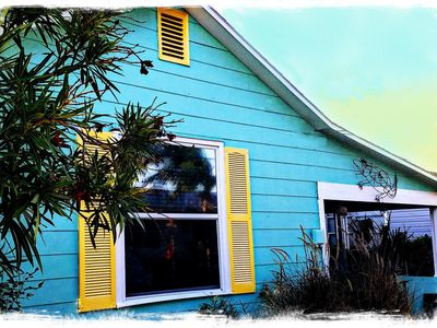 Photo for Cozy Beach Cottage for Two-plus Steps From a Dream White SandBeach.