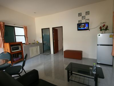 Photo for Bungalow with bedroom in quiet village.
