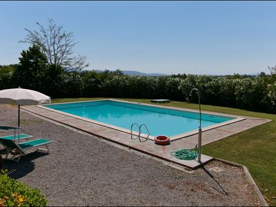 Photo for Farmhouse in Cortona with Pool, Terrace, Garden, Fireplace