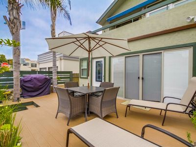 Photo for UPGRADED | CENTRAL AC | 3- Parking, BBQ, Sunny Side of Court, Family Beach Rental