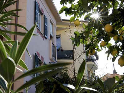 Photo for Le Petit Bijou: Charme & relax a few steps from the sea. Balcony, free Wifi and A. C.