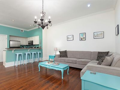 Photo for Great location on Broughton Street, walking distance to finest shops and eateries!