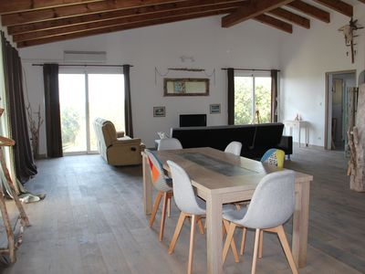 Photo for Top of 160 m² villa, 2 bedrooms with sea view terrace 4 to 6 people