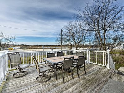 Photo for NEW! Walkable Bayfront Retreat w/ Deck Views