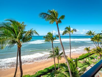 Photo for K B M Hawaii: Ocean Views, Whale Watching 2 Bedroom, FREE car! Aug Specials From only $339!