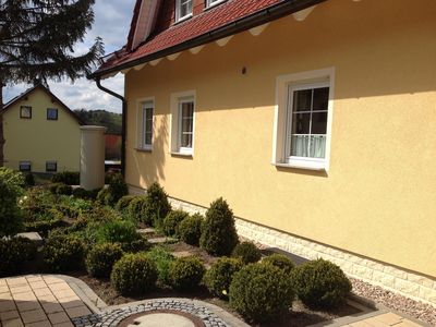 Photo for Holiday house in Thuringia in the three-region-recreation close to art and Culture