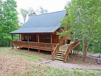 Photo for Upscale log cabin in highly desired Hocking Hills location
